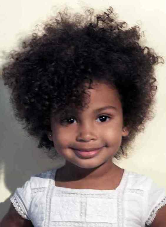 black children short afro