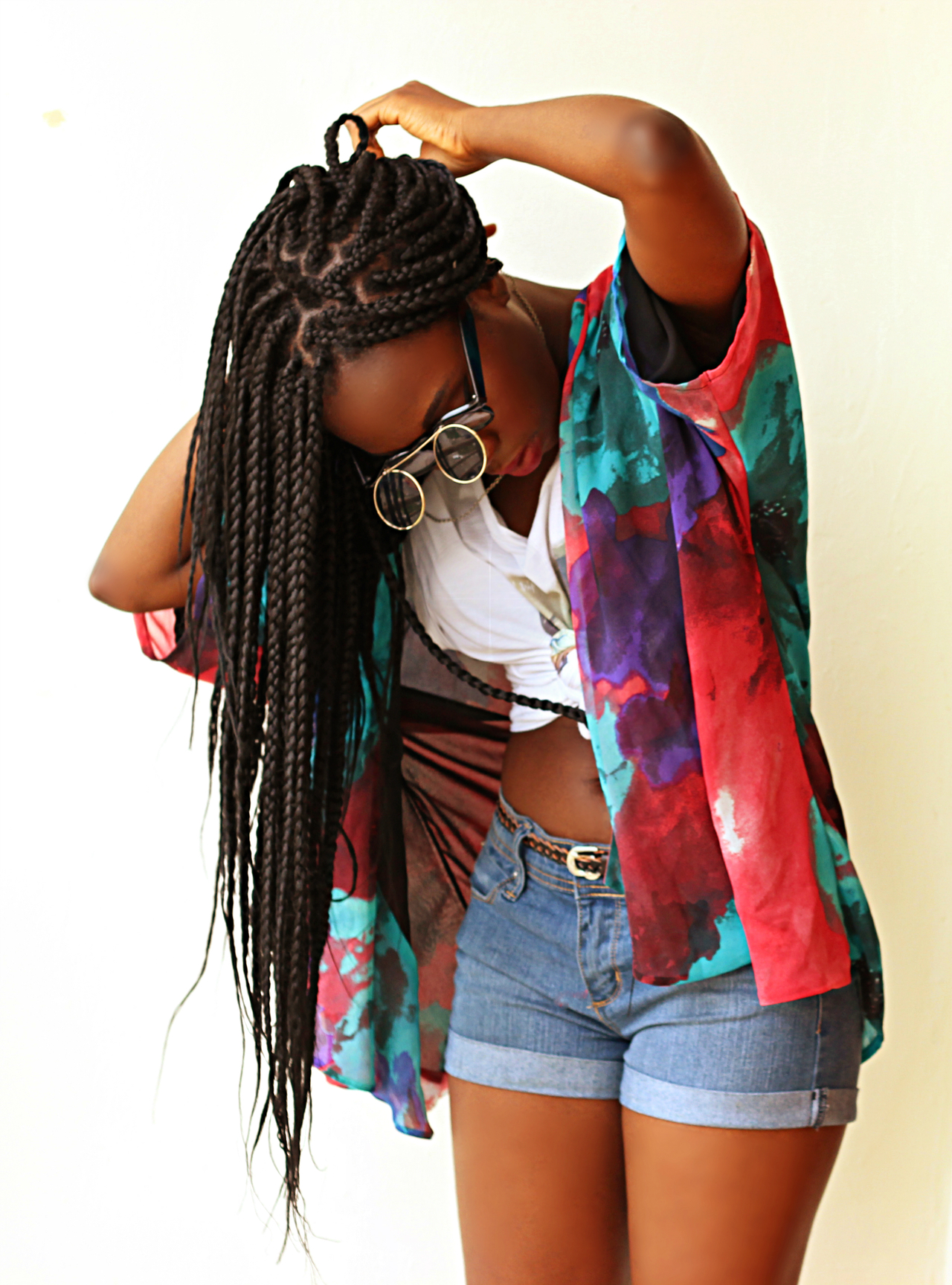 long boxing braids for black women