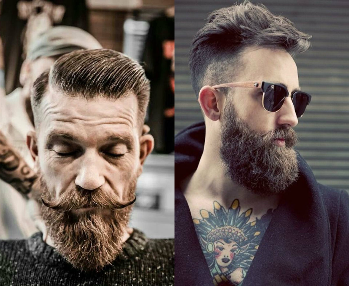 Beards and-undercut-2017