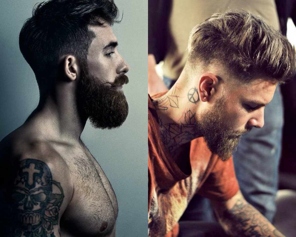 Beards and Undercut Hairstyles for Men 2017