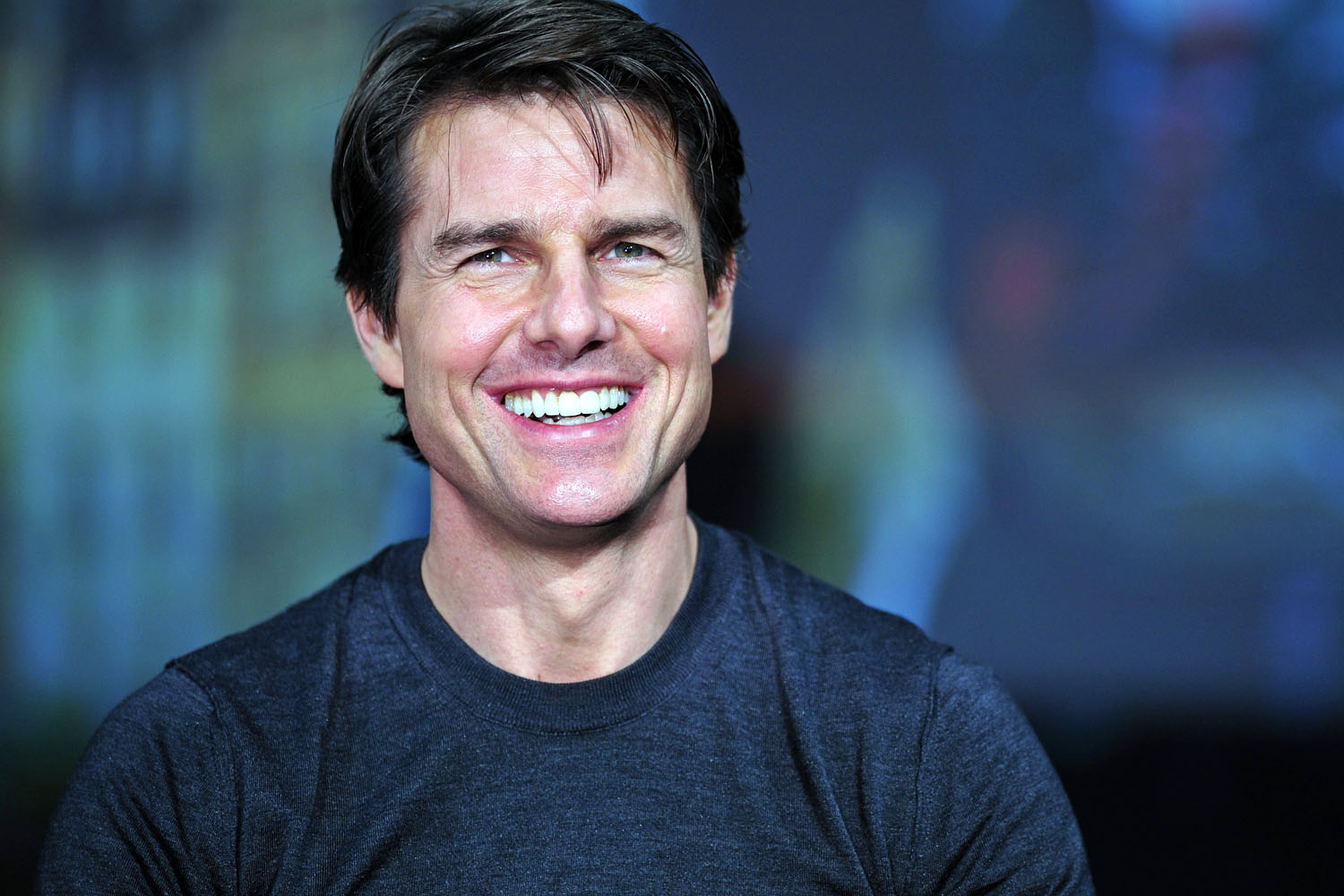 Tom Cruise Casual Men's Hairstyles 2018