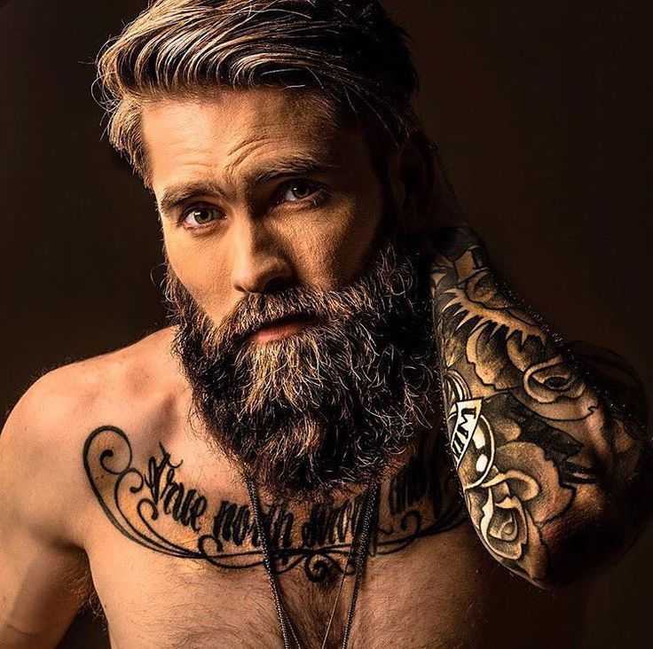 brutal male looks with snr hair and beards 2018