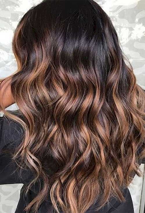 Long hairstyles with Balayage-15