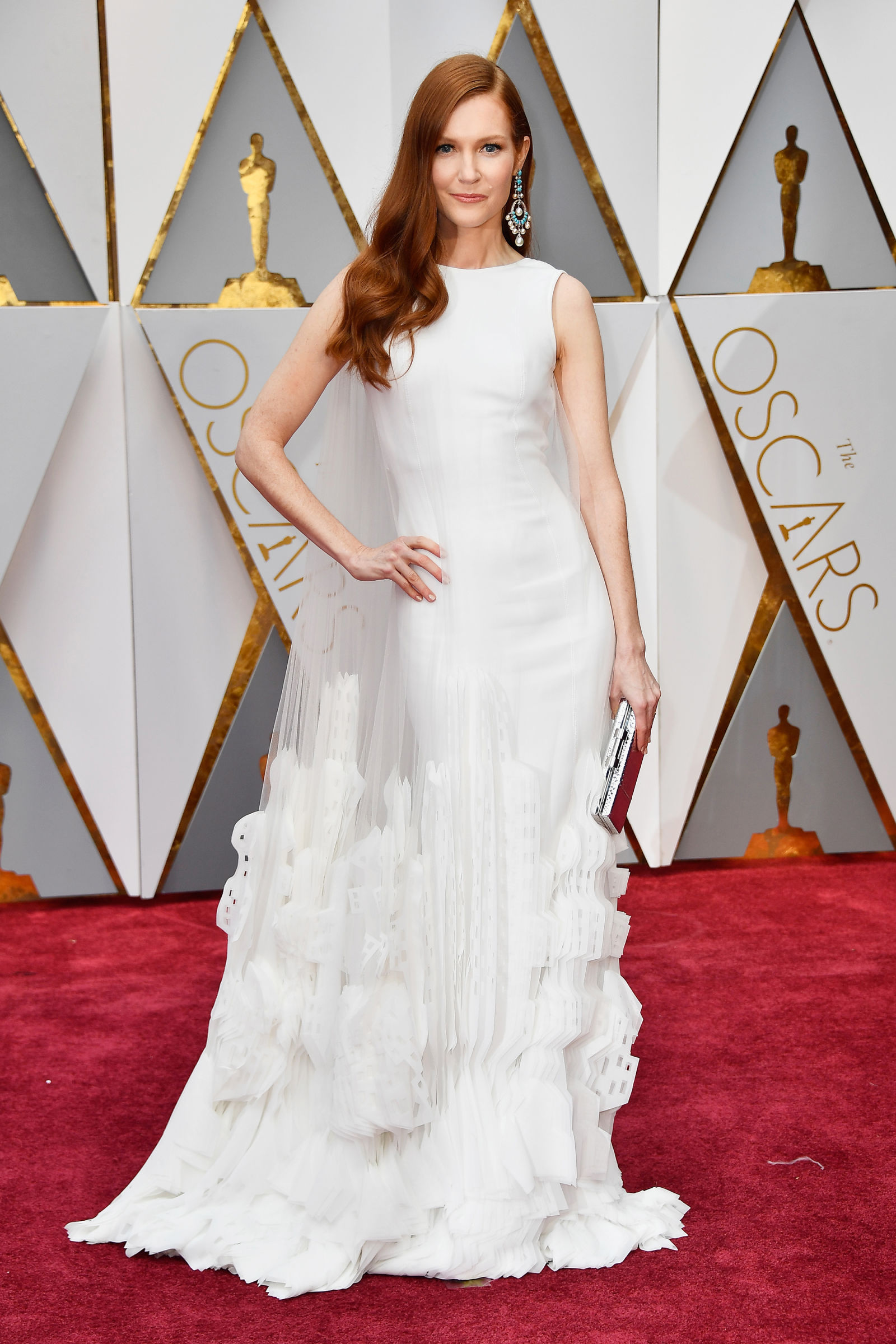 DARBY STANCHFIELD Hairstyles 2017 Oscars