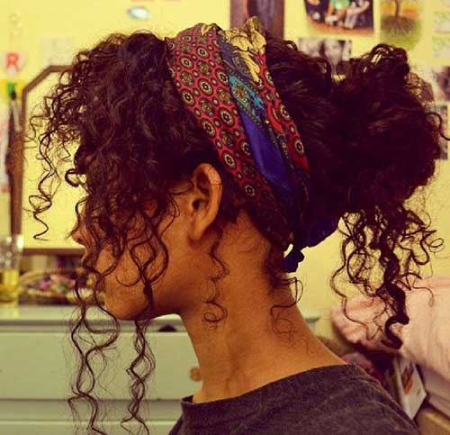 Hairstyles for curly hair-18