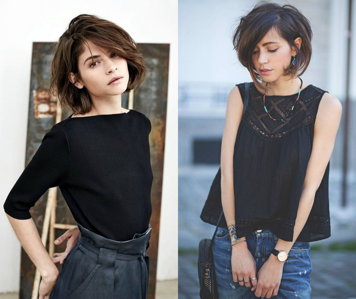 short black graduated bob hair 2018 [19659011] wavy hair chin length styles </ figcaption> </ figure></p> <p> Many will agree with me saying that much depends on your hair color.  It is certain that color defines the character.  Whatever you think about blonde can not be true about brunette.  If you choose it right <span> <strong> fall / winter hair colors </ strong> </ span> then rest assured that your bob is trendy and to the point.<br />  </ P></p><div class='code-block code-block-1' style='margin: 8px auto; text-align: center; display: block; clear: both;'> <!--ads/280.txt--></div>  <h2> <span> Brown Hair Bob Hairstyles </ span> </ h2></p> <figure id =