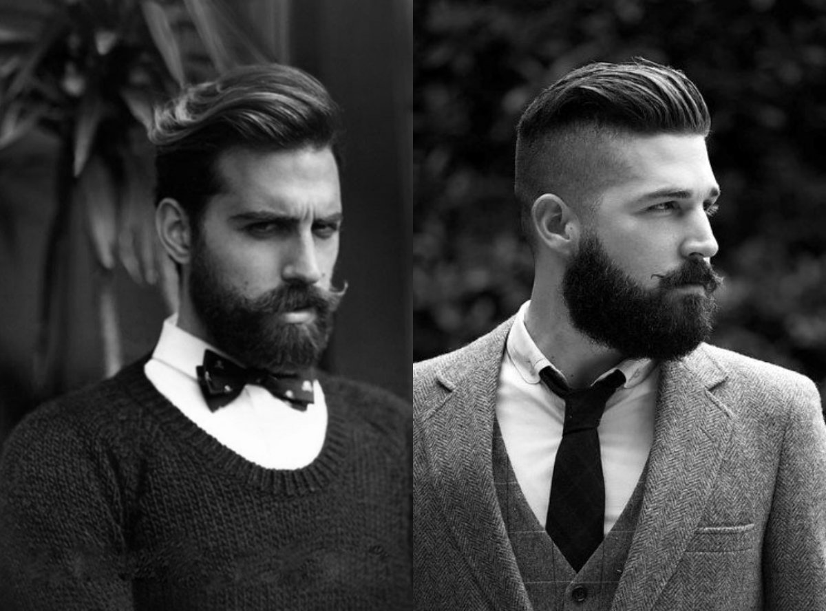 noble men's hairstyles with beards 2018