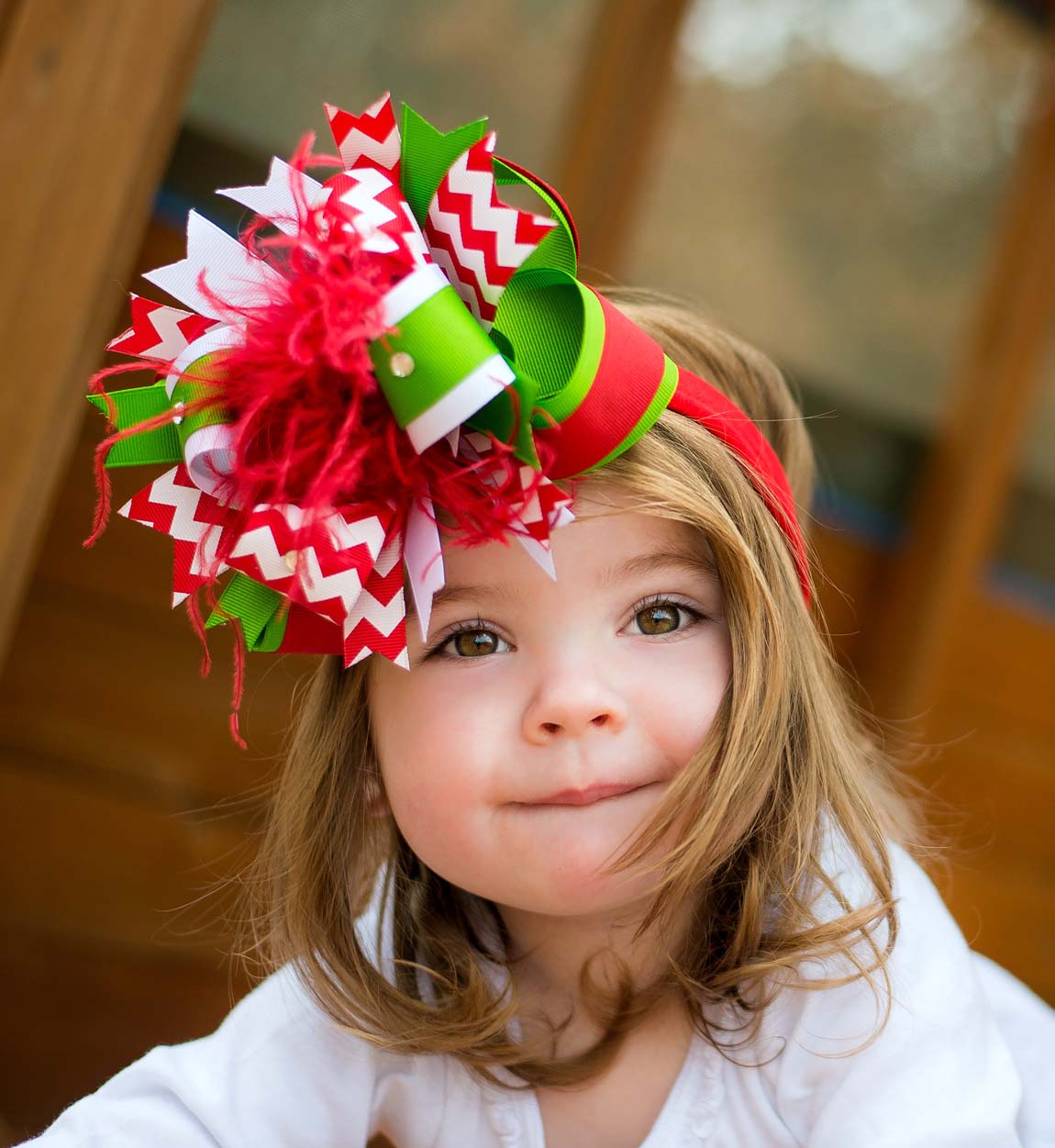 New Year's hairstyles for children