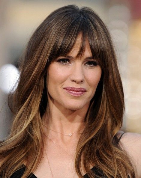 Jennifer Garner Highlighted Hair with Pony
