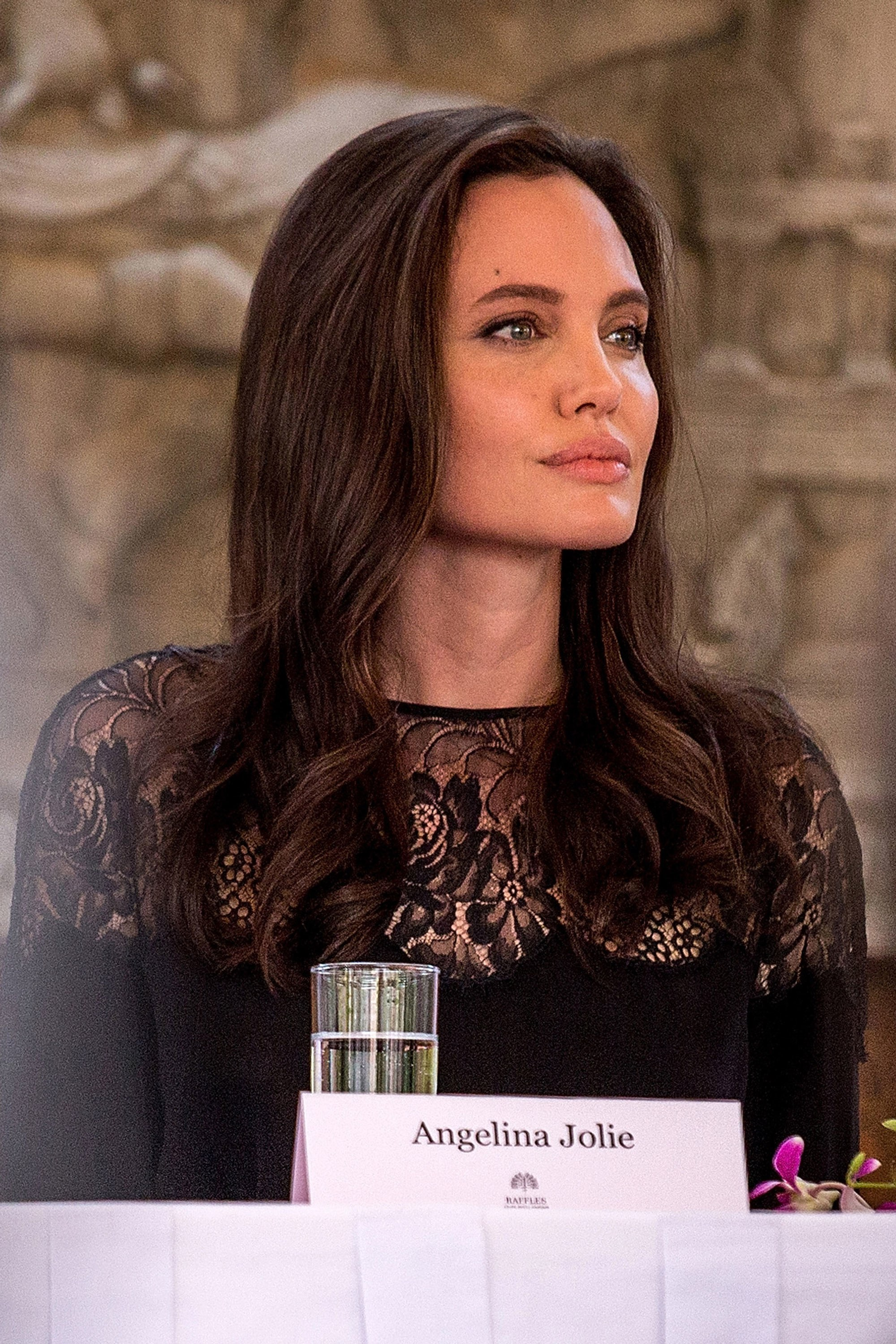 Angelina Jolie brunette hair colors [19659018] Angelina Jolie </ figcaption> </ figure></p><div class='code-block code-block-1' style='margin: 8px auto; text-align: center; display: block; clear: both;'> <!--ads/280.txt--></div>  <p> If you're thinking about highlights for your dark hair, you're here to see caramel and honey highlights.  In fact, these are perhaps the best shades for dark hair, be it dark brown or real brunette.  These highlights transform your hair color into a creamy espresso and beautify your face, giving your look a mysterious look.<br />  </ P></p> <h2> <span> Delicate brown shades of brown </ span> </ h2></p><div class='code-block code-block-1' style='margin: 8px auto; text-align: center; display: block; clear: both;'> <!--ads/280.txt--></div>  <figure id =
