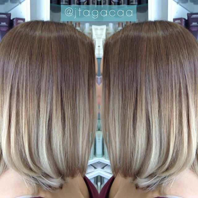 smooth bob hairstyle for ladies