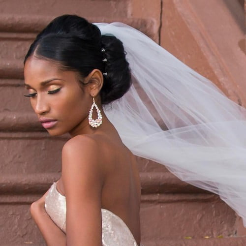 Salivate 41 Wedding Hairstyles For Black Women Over 2018