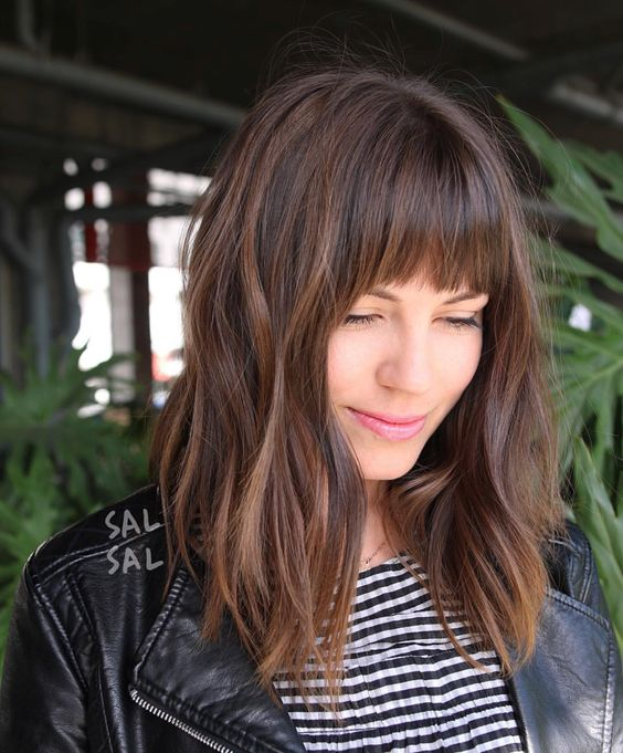 33 Flattering Bangs Hairstyles to Inspire You This Year