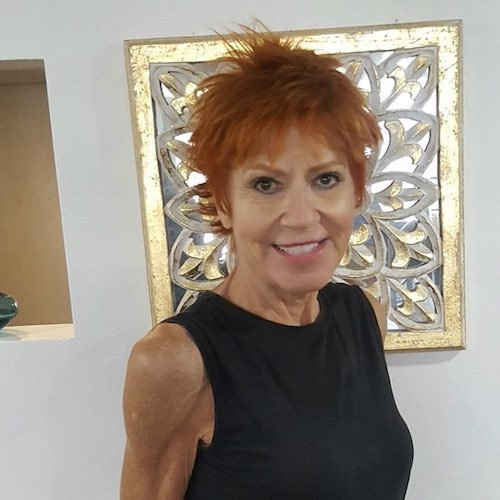 Ginger hair color for women over 50