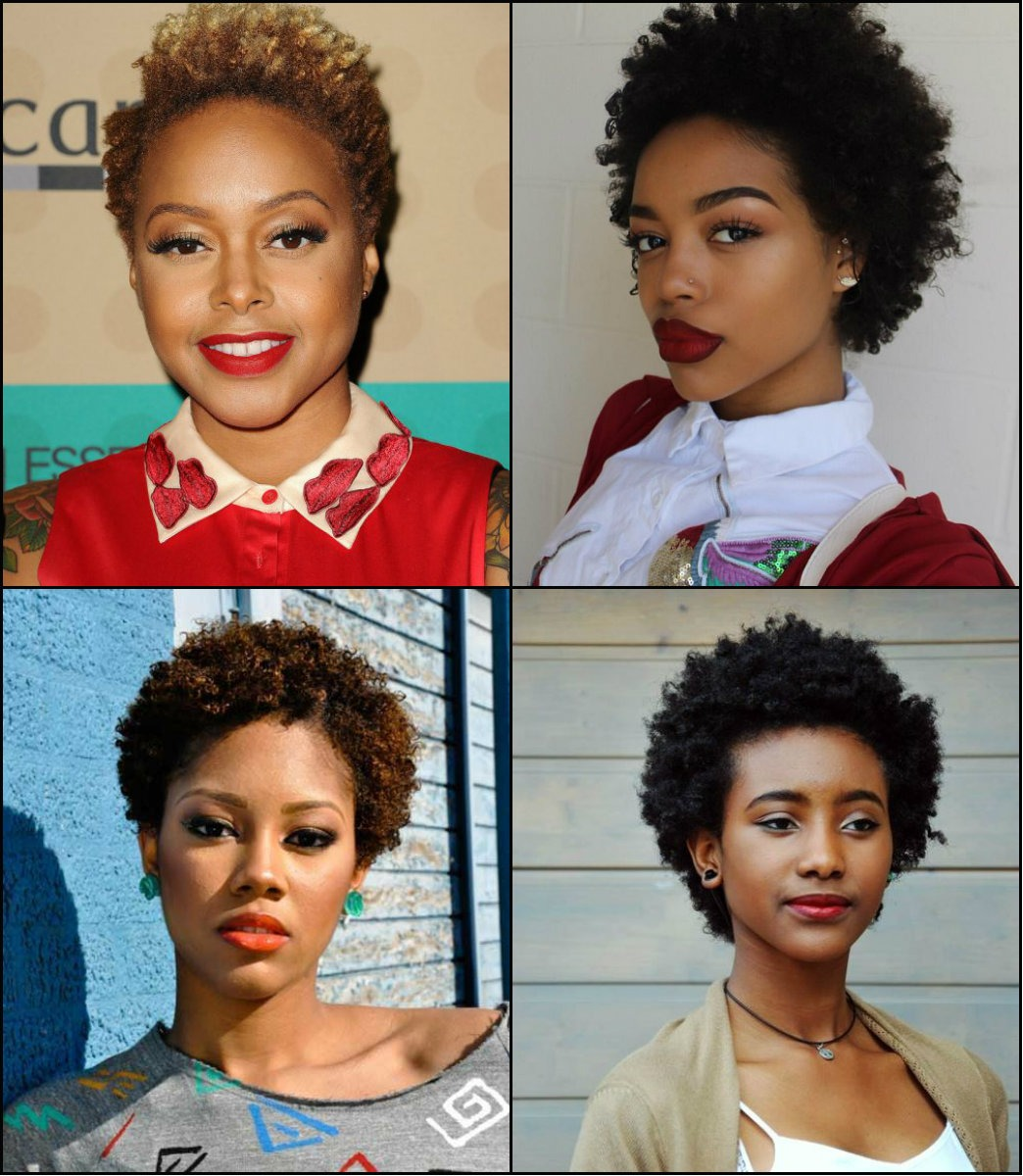 best short afro hairstyles for black women