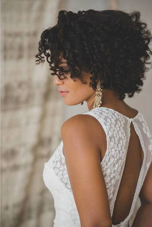 curly wedding hairstyles for black women 2