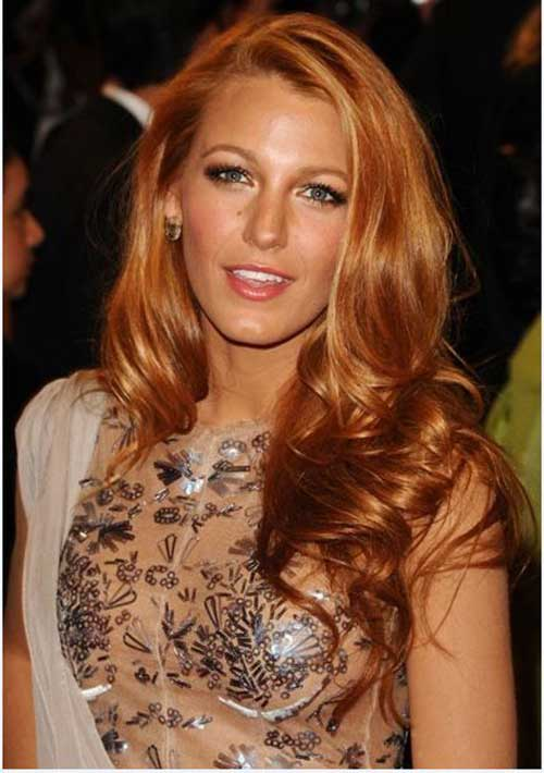 Strawberry Blonde Hair Color 12