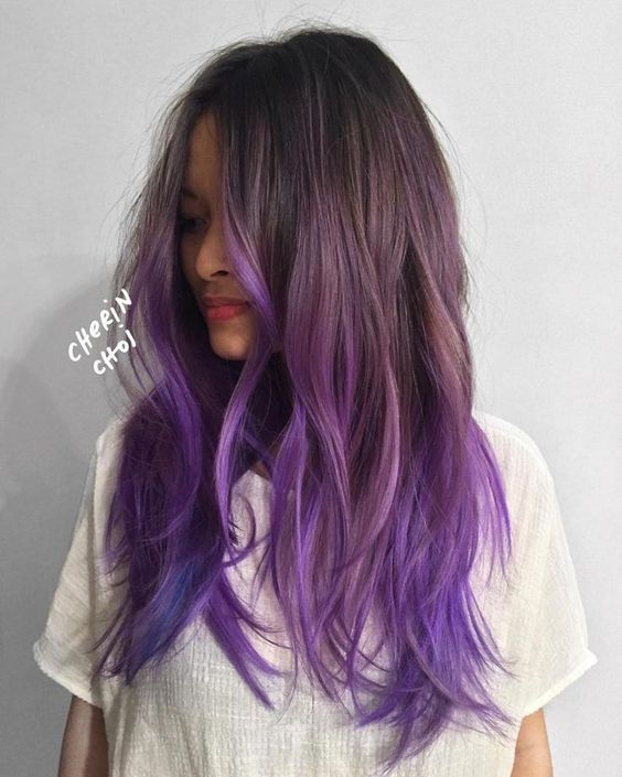 Ombre Hair and Purple Ombre (4)