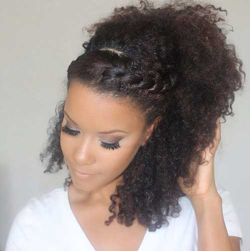Natural curly hairstyles for girls