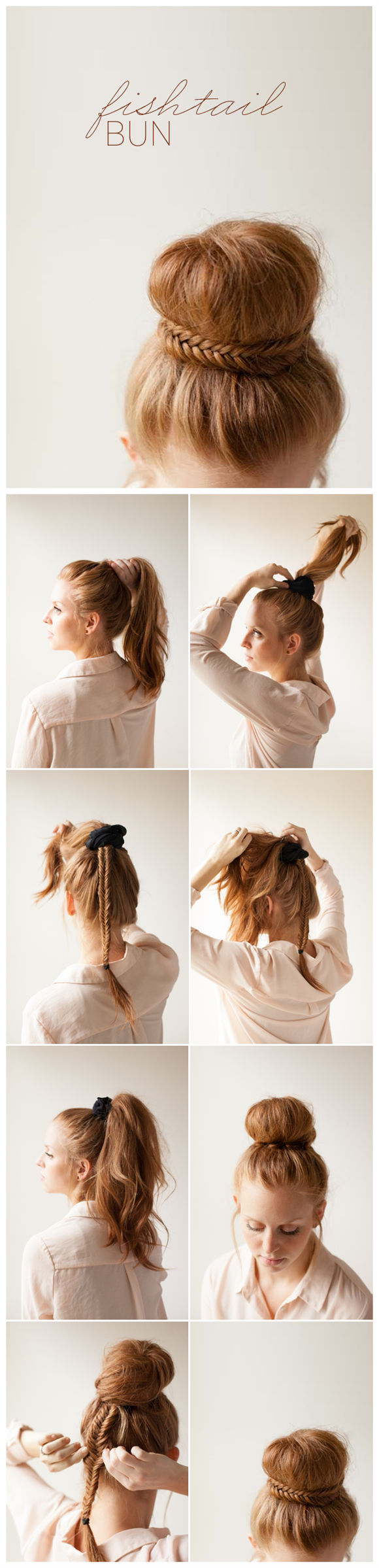 10 Fishtail Bun Tutorial2
