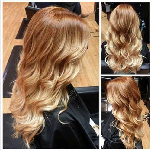 Strawberry Blonde Hair Color-10