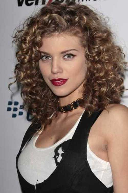 Nice Hairstyles for Curly Hair Girl