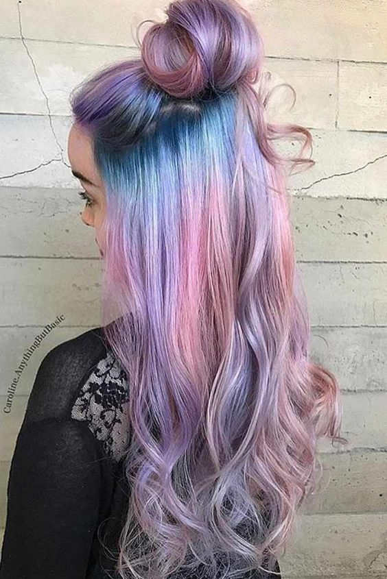 Ombre Hair and Purple Ombre (2)