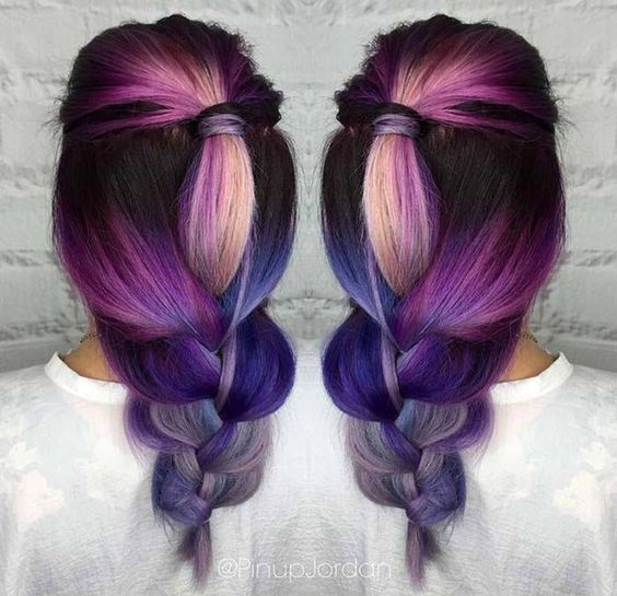 Ombre Hair and Purple Ombre (19659016) 9)