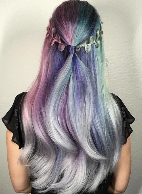 Ombre Hair and Purple Ombre (7)