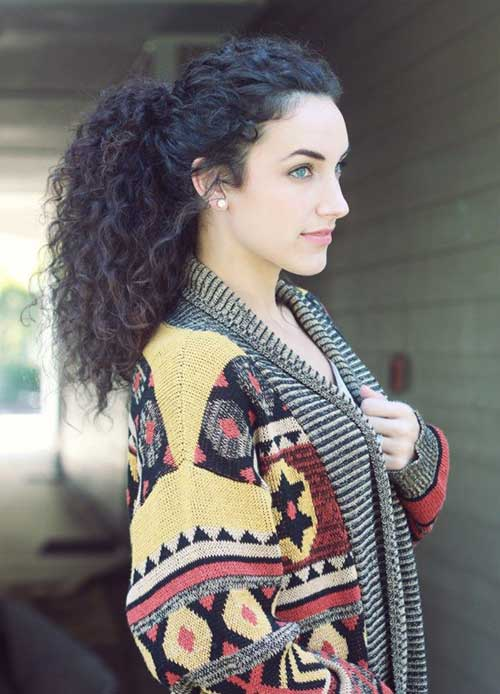 Hairstyles for Curly Hair-30