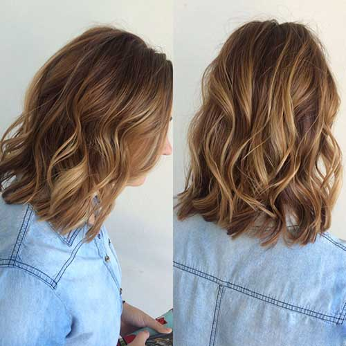 Light brown long hairstyles