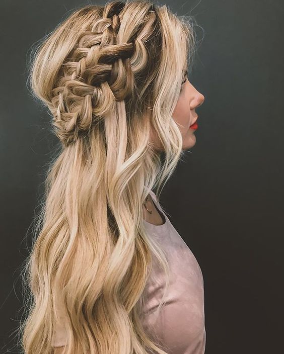 Prom Hairstyle 2018 (9)