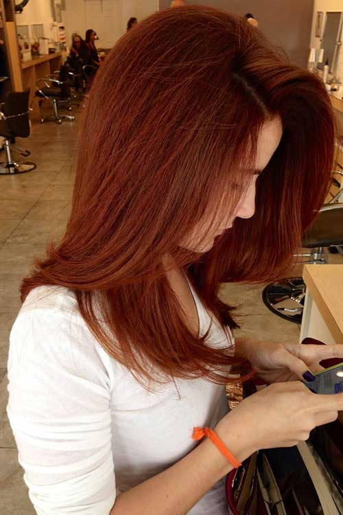 Red hair color-19