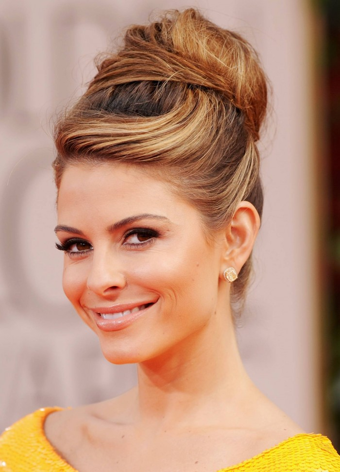 Updos hairstyles for the winter