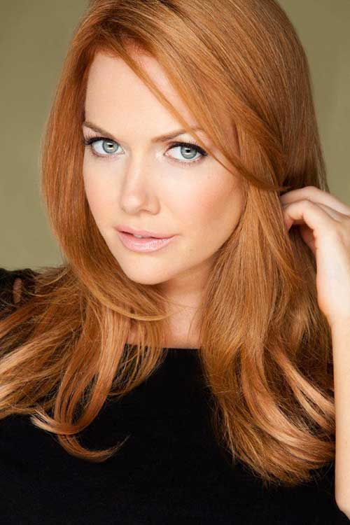 Strawberry Blonde Hair Color-14