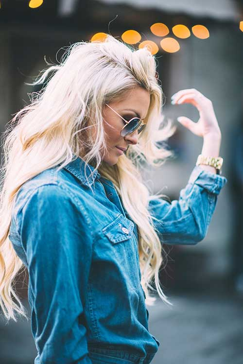 Long blond hairstyles-8
