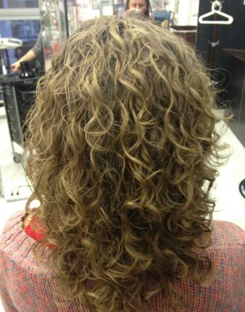 Layered cut loose perm hairstyles