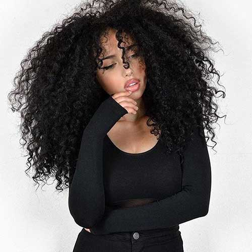 Hairstyles for Curly Hair-17