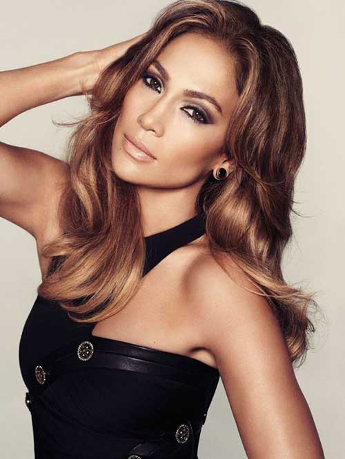 Long light brown hairstyles