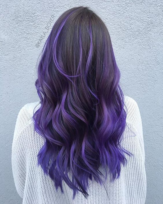 Ombre Hair and Purple Ombre (12)