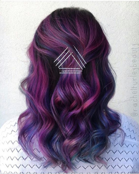 Ombre Hair and Purple Ombre (11)