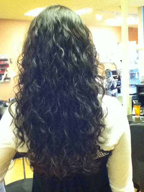 Wave Loose Perm hairstyles