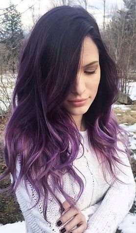 Ombre Hair and Purple Ombre (8)