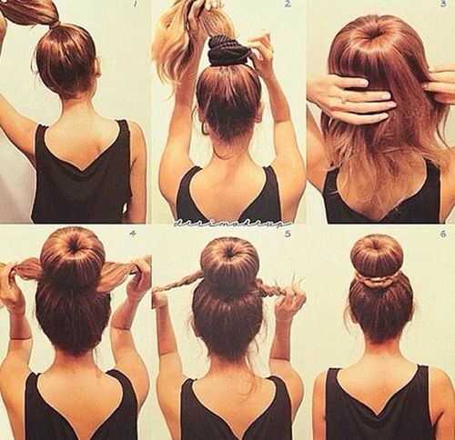 1 high-Donut Bun Instructions