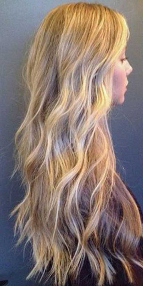 Ash Blonde highlights hair color trends 2017