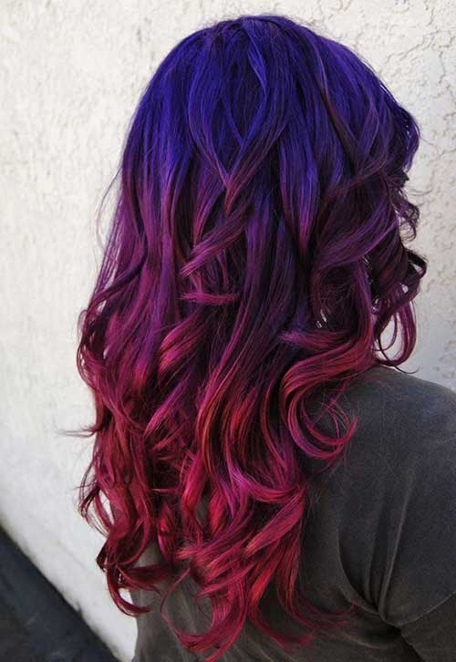 Long Ombre Hairstyles-10