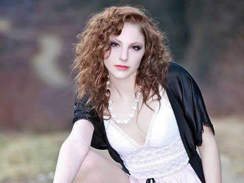 Sweet loose perm hairstyles