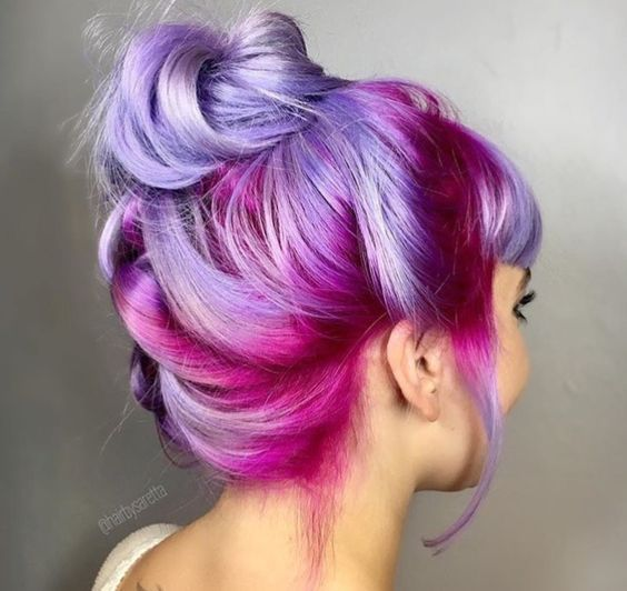 Ombre Hair and Purple Ombre (3)