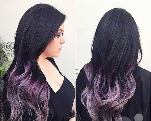 Hair color trends 2017-19