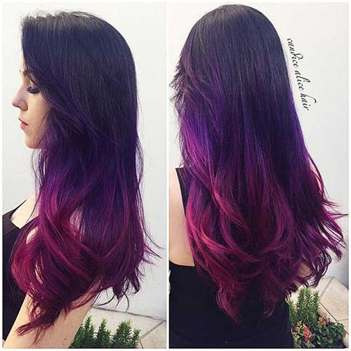 Long Ombre Hairstyles-15